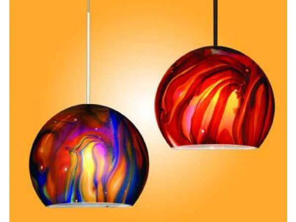 LA VIE Collection of Glass Pendants