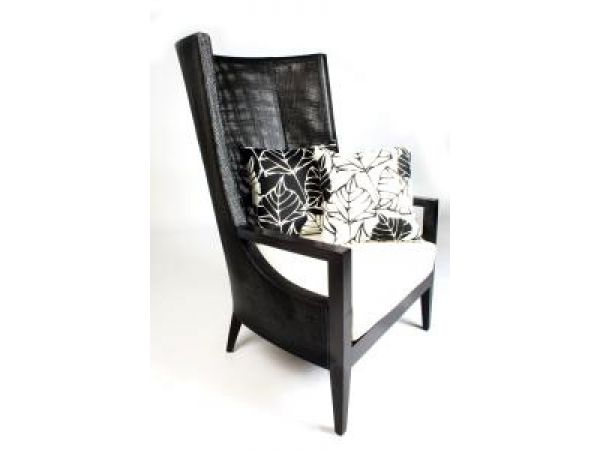 High-Back Lounge Chair