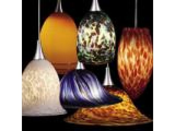 Halo Art Glass Family Collection/Cooper Lighting