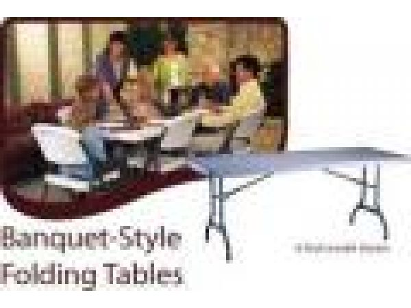 Banquet-Style Folding Tables