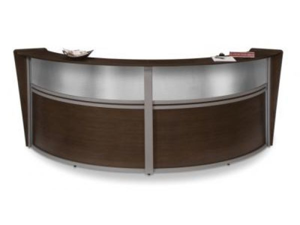 55292-Walnut with Polycarbonate Top