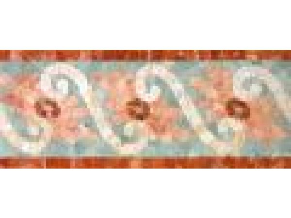 Stone Mosaics-5.25x12 Fleure Ripple 028