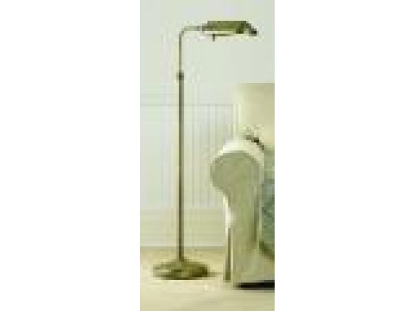 Heritage¢â€ž¢ Natural Spectrum' Deluxe Floor Lamp