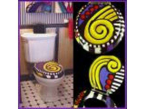 HEADS OR TAILS TOILET SEAT
