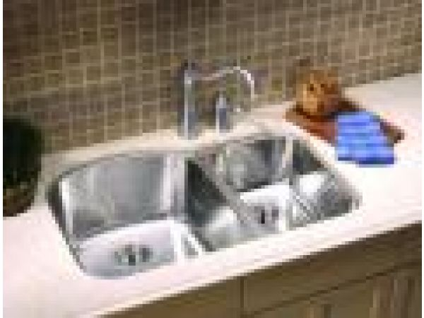 D-Shape Stainless Steel Sink
