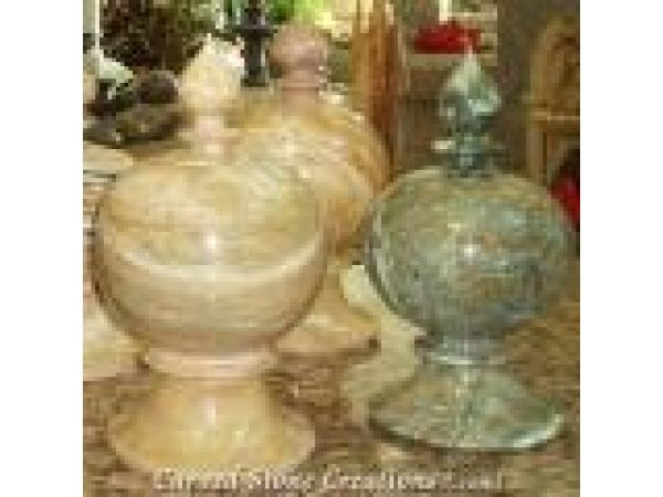 FV-M07, Multicolor exotic marble urns