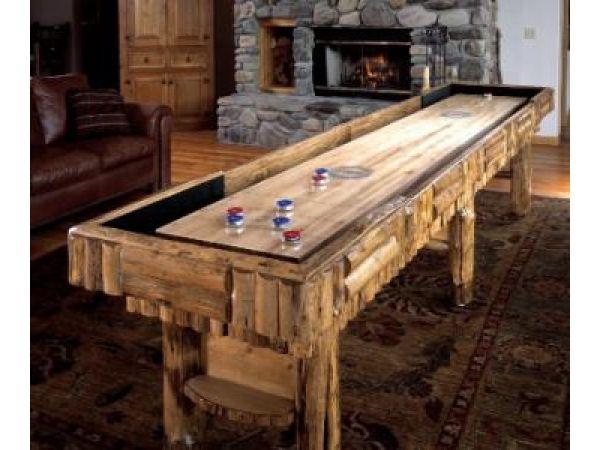 Rustic Shuffleboard  Tables