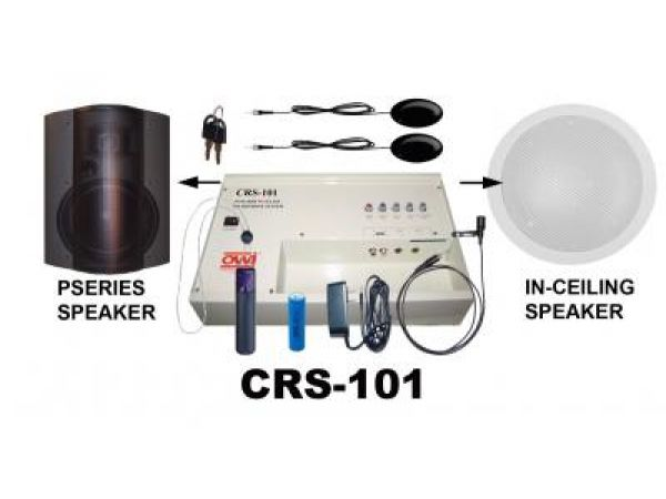 INFRARED WIRELESS MICROPHONE SYSTEM CRS101