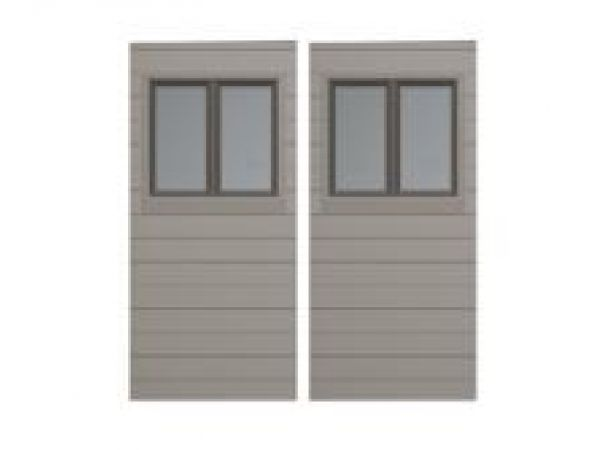 Two Extra Window Panels for 11-Foot Wide Sheds