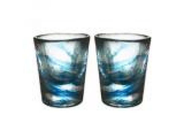 Mini Mine Glass Petrol Pair
