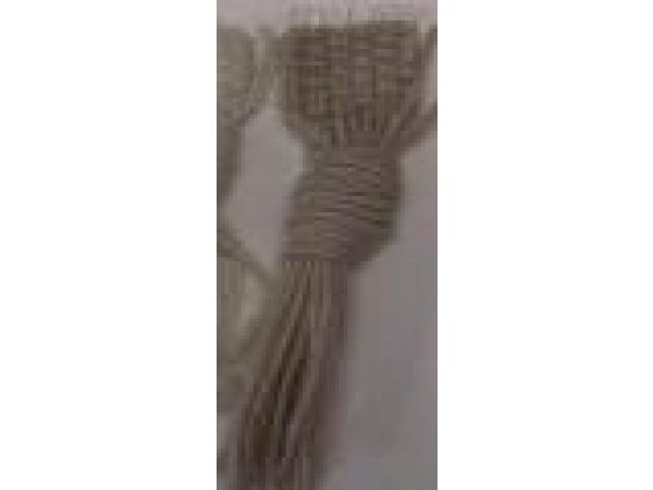 Style W780 Large Knotted Wool Fringe