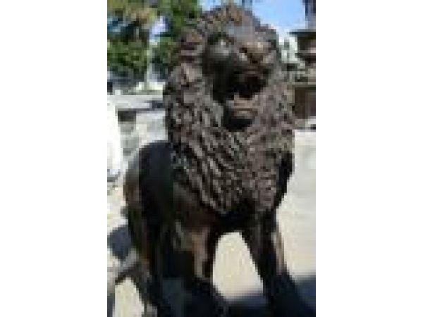 Cast Iron, Bronze & Aluminum Statues - S0012