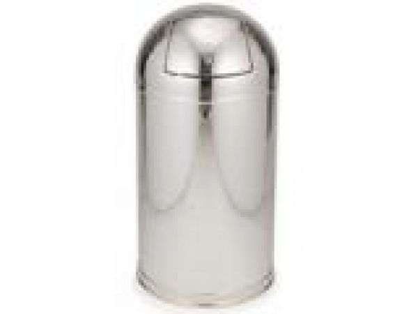 9615 Marshal' Stainless Steel Container with 9 U.S. gal (34.1 L) Plastic Liner