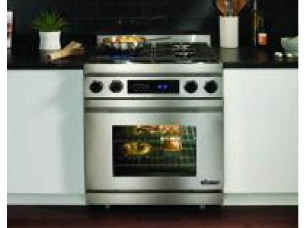 "Distinctive 30"" Dual Fuel Range"
