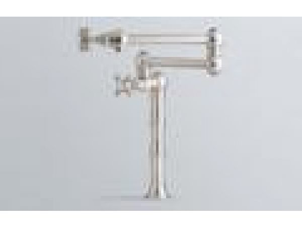 Deck or Island Mounted Swing Arm Pot Filter