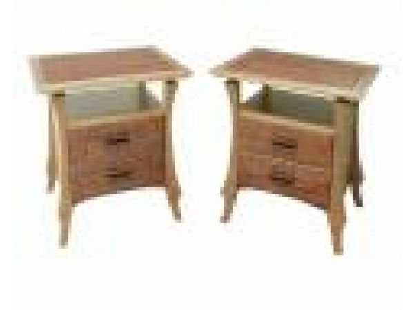 Night Stands with Drawers