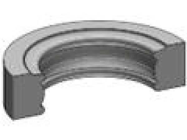 Curved Traditional Light Rail Moulding