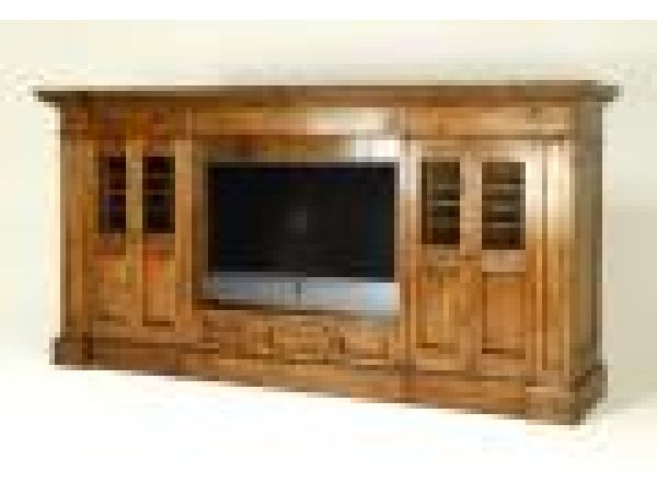2945 Television Cabinet with Side Sections