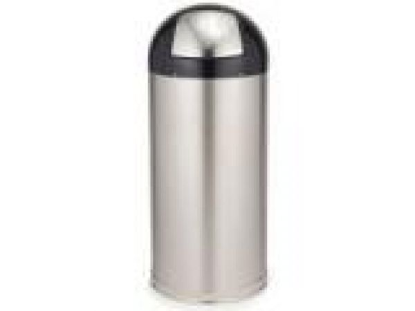 9632 Marshal' Stainless Steel Container with 13 3/4 U.S. gal (52 L) Galvanized Liner