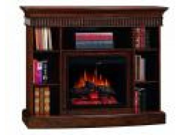 Westbury Electric Fireplace/Bookcase