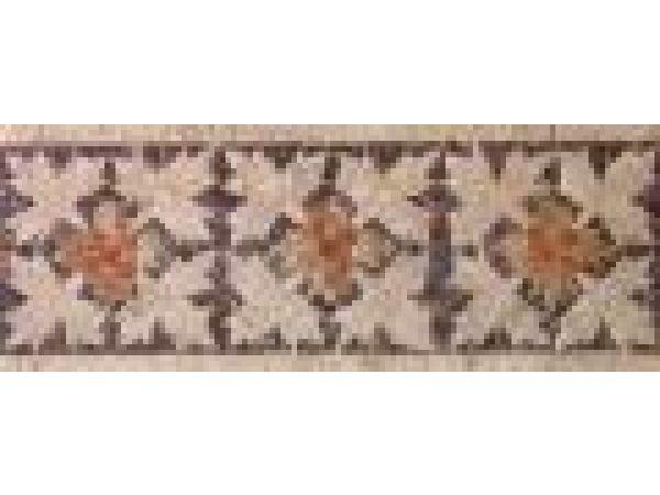 Stone Mosaics-6x15 Leaf & Berry SS