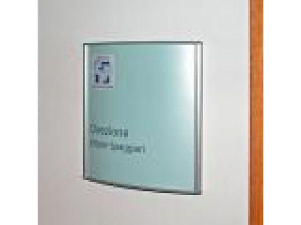 Vista System Wall Mount Sign Frame