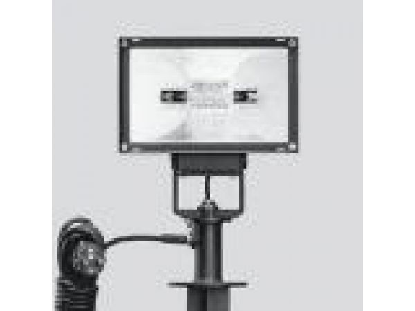 Floodlight - rectangular with stake