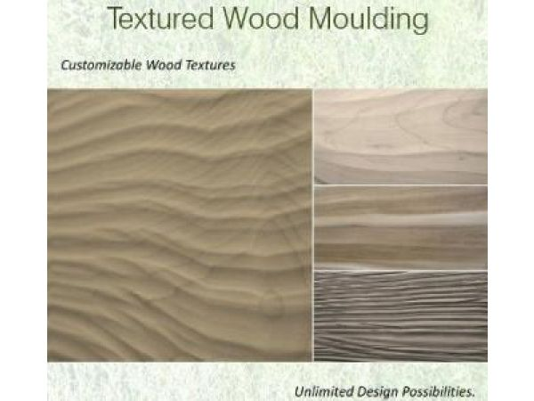 Textured Wood Moulding