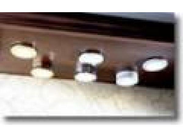 Low Voltage Lighting Kits(Brass, Chrome, White)