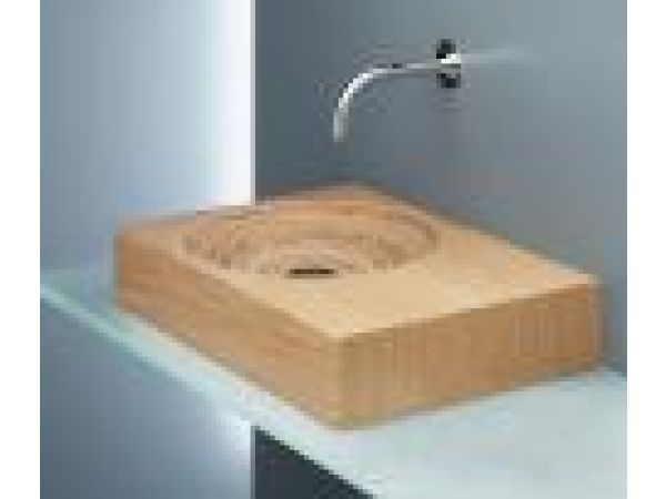 Limbus 3 Birch/Oak wood combination over counter sink