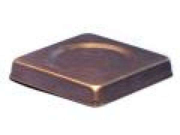 Square Copper Wine Bottle Coaster