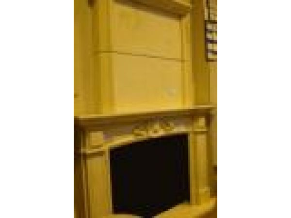 Marble Fireplace Mantels - D408 Egyptian Beige