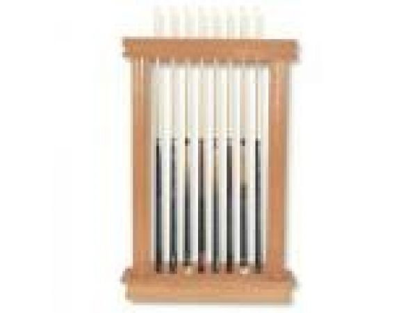 8 Cue & 2 Cup Wall Rack