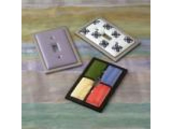 Ceramic Insert Wall Plate Collection