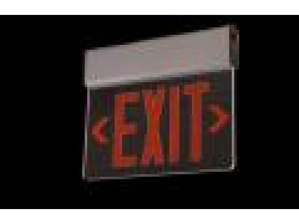 Sure-Lites EUR/EUS Universal Edgelit Exit Series