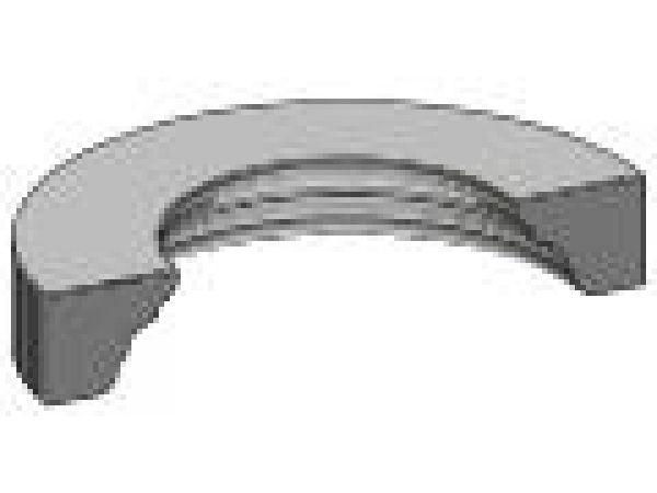 Curved Full Overlay Corner Moulding