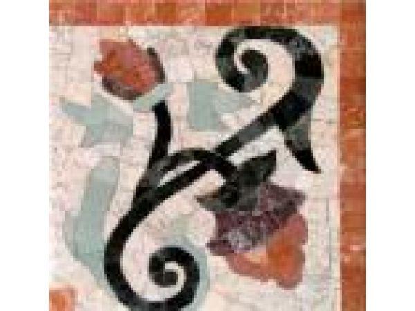 Stone Mosaics-Fleuret 023 Corner