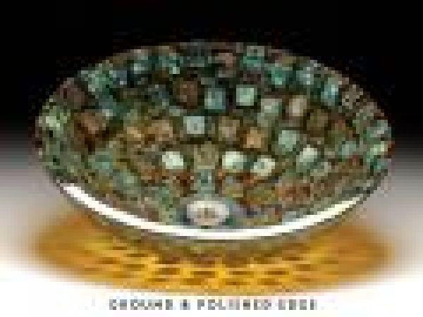 Alchemy Mosaic¢â€ž¢ Glass Sink
