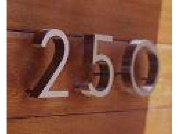 Neutra House Number