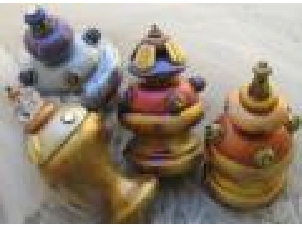Decorative Finials and Tiebacks