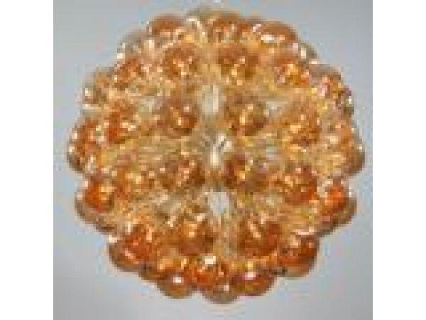 Amber Balls Pendant, C-410