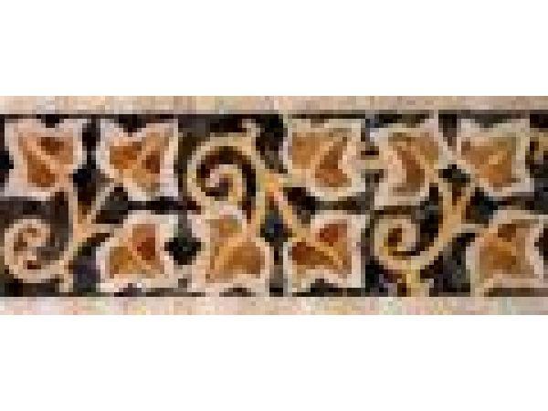 Stone Mosaics-5.75x14.75 Ivies 030