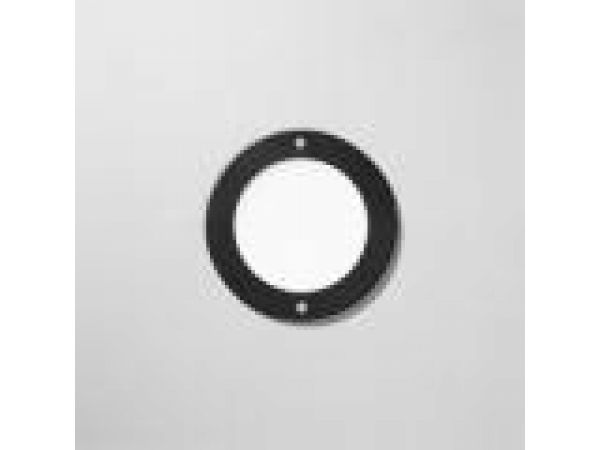 Recessed wall - low voltage with white tempered gl