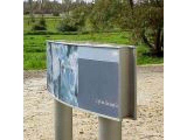 Vista System Post Pylons