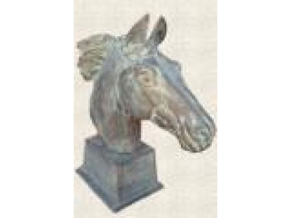 Cast Iron, Bronze & Aluminum Statues - A194