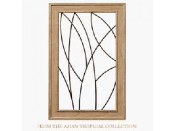 Asian Tropical Wire Grille