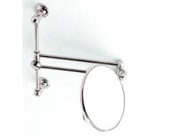 GINGER Columnar Pivoting Vanity Mirror w/Slide Bar