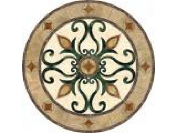 Flower medallion