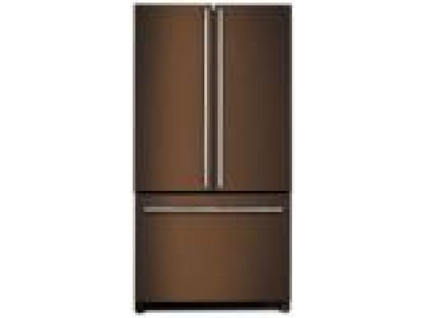 French Door Refrigerator, Oiled Bronze