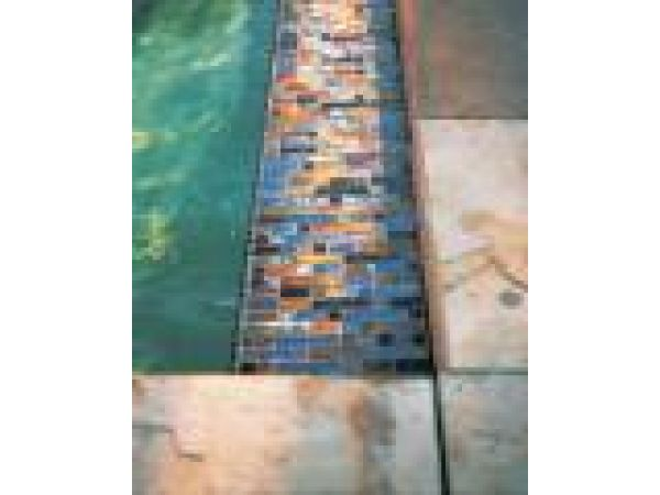 Weave Glass Mosaic Tiles